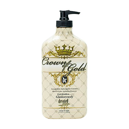 Crown of Gold Luxury Skin Softening Hydrator Color Fade Protection by Devoted Creations