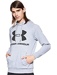 Under Armour Rival Fleece Sportstyle Logo Hoodie Sudadera cálida, Hombre