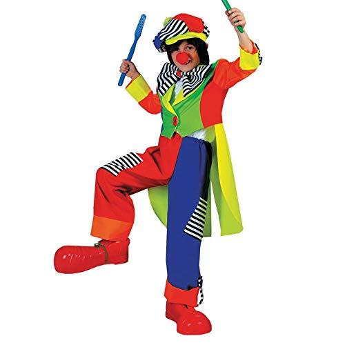Kostüm Stripes Spanky Clown - Spanky Stripes Clown Ch Sm