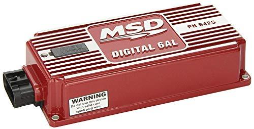 MSD Numérique 6Al Contrôle D'Allumage Pn: 6425, Red