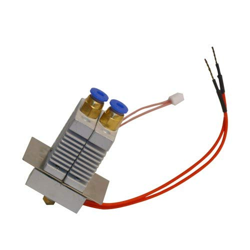 2 in 1 out dual extruder mix color hotend for A10M A20M
