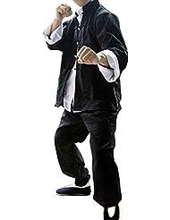 ZOOBOO Mens Classic trajes de Tang Kung Fu Artes Marciales uniformes juego de 3, hombre, large