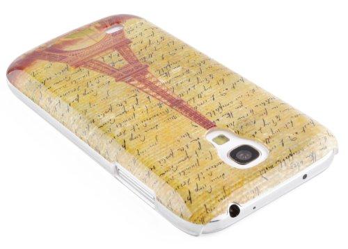 JAMMYLIZARD | Coque de protection vintage pour iPhone 5C, Stéréo rétro TOUR EIFFEL SEPIA