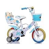 DT TD Bicicleta para Niños 12 Pulgadas 14 Pulgadas 16 Pulgadas 18 Pulgadas Bicicleta Caminante V0059 (Color : Light Blue 3, Size : 18 Inches)