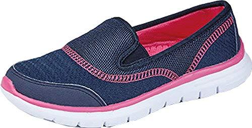Foster footwear ll4311, sandali con zeppa donna, (marina militare), 36.5