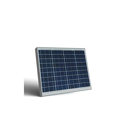 Panel solar fotovoltaico de 12 V de silicona policristalina, apto para la alimentación de casas de motor, barcos, casas de campo, sistemas de vigilancia de vídeo, radio, etc.