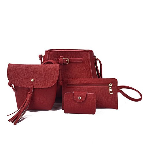 Eysee, Borsa a tracolla Donna Wine Red