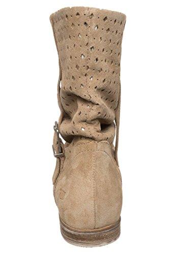 Shoot - Stivali da Motociclista Donna Rock (beige)