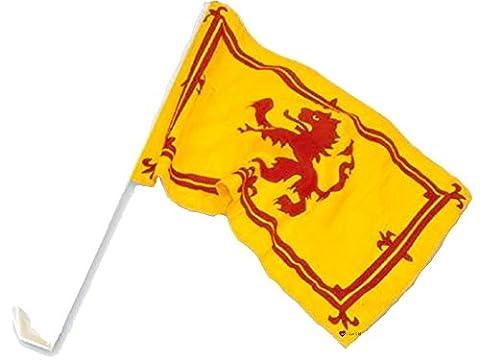 Car Flag Lion Rampant Car Flag Lion Rampant Design Scottish Flag