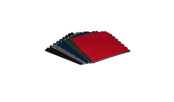 Grigio scuro rosso o verde incastro pavimento piastrelle schiuma