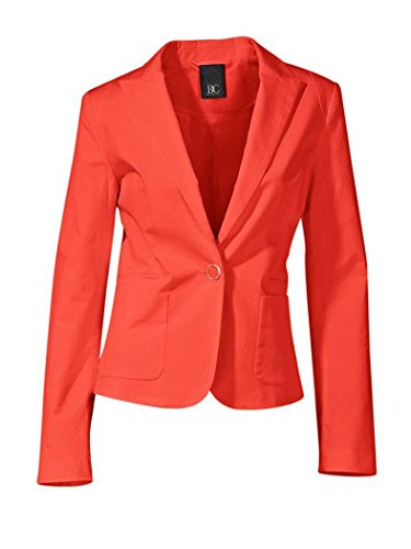 Heine - Best Connections Damen-Blazer Blazer Orange Größe 40