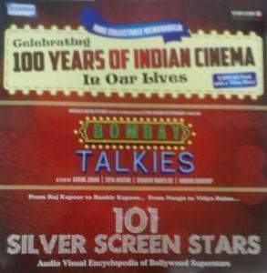 Preisvergleich Produktbild Celebrating 100 Years of Indian Cinema in Our Lives - (Bombay Talkies + 101 Silver Screen Stars) Rare Collectable Memorabilia