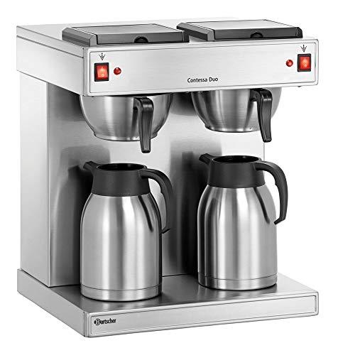 "1x Bartscher Doppel-Kaffeemaschine \""Contessa Duo\"" Elektro, Kaffeeautomat"