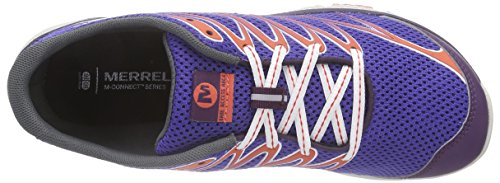 Merrell BARE ACCESS ARC 4, Scarpe da corsa donna Blu (Blau (LT BLUE/BRIGHT YELLOW))