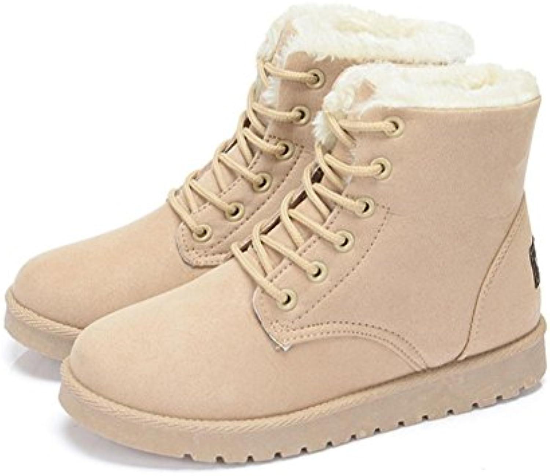 Stivali invernali da donna Suola in gomma smerigliata con prossoezione prossoezione prossoezione alla caviglia Stivali caldi da passeggio... | Trendy  18bb40