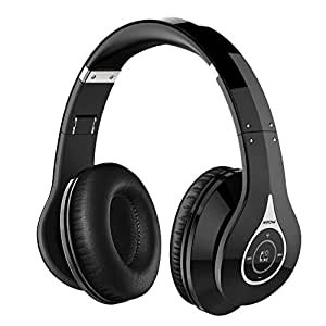 mpow casque bluetooth sans fil casque jeux vid o gaming micro oreillette anti bruit bluetooth. Black Bedroom Furniture Sets. Home Design Ideas