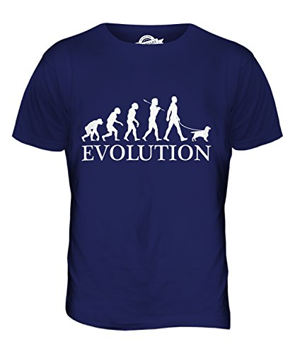 Candymix - English Toy Spaniel Evolution Of Man - Mens T Shirt Top T-Shirt