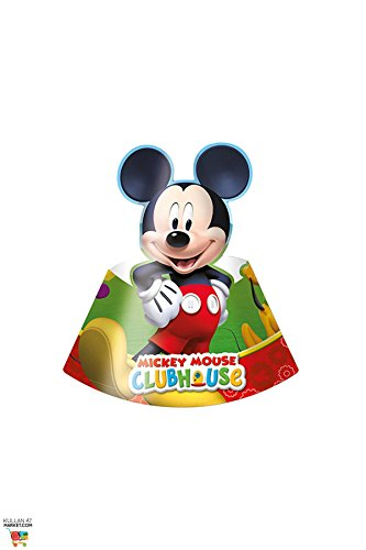 Perona - Pack 6 gorros Mickey Mouse ( 50871)