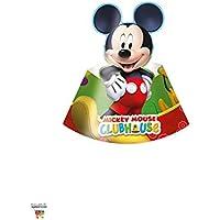 Amscan Perona - Pack 6 gorros Mickey Mouse (50871)