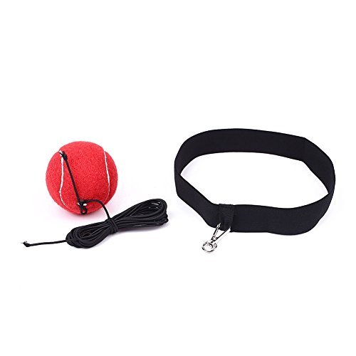 Forfar Punch Combat Ball Kampf Ball Reflex Mit Stirnband Reaktion Reflex Speed   Muskel Trainingsübung Fitness Körperbau