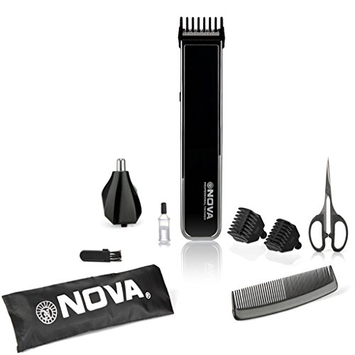 Nova NG-1050 2 in 1 Grooming Kit (Black)