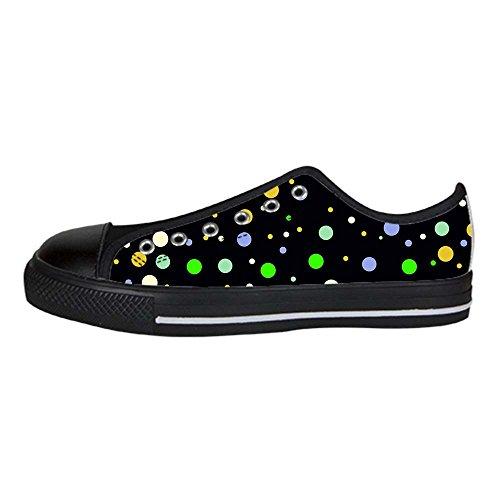 Dalliy polka dots Men's Canvas shoes Schuhe Lace-up High-top Sneakers Segeltuchschuhe Leinwand-Schuh-Turnschuhe A