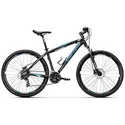 "Conor 6300 Disc 27,5"" Bicicleta Ciclismo Unisex Adulto, Negro/Azul"