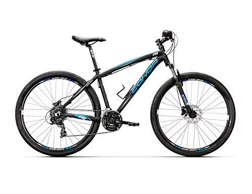 "Conor 6300 Disc 27,5\"" Bicicleta Ciclismo Unisex Adulto, Negro/Azul"