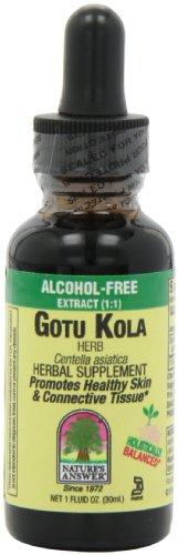 Nature's Answer Cola di Gotu Erba, Senza Alcool, 29,6 ml
