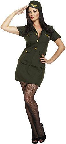 Armee Damen-kostüm für (Kostüme Mädchen Militär)