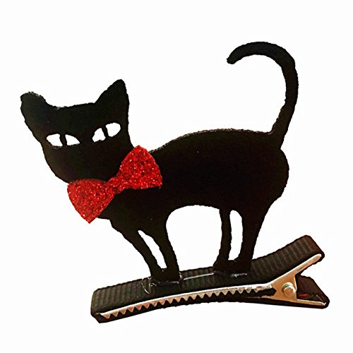 Lanlan Kinder Funny Cosplay Decor Halloween Party Supplies Kleid bis Haar Clip (Katzen Kostüme Kit Adult Kostüme)