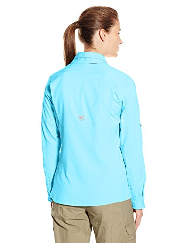 Columbia Women's Lo Drag Long Sleeve Shirt Coastal Blue