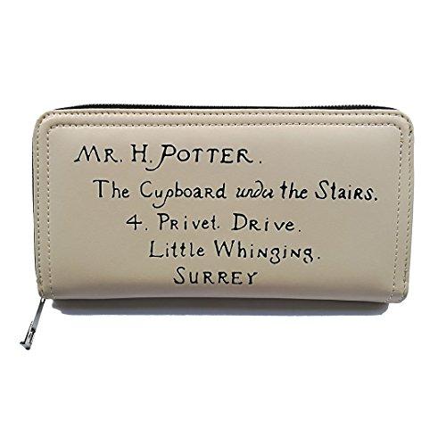 Femminile Harry Potter Hogwarts Scuola Pelle Cerniera Portafogli