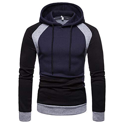 Beonzale Herren Herbst Winter Raglan Langarm Hoodie Pullover Sweatshirt Top Bluse Camo Thermal Sweatshirt