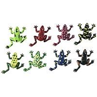 Darice Creatures-Frogs 8/Pkg