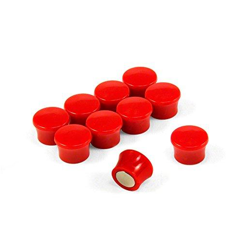 Magnet Expert® Petit Haute Puissance Note' Planche aimants, Rouge, 5 Paquets de 10