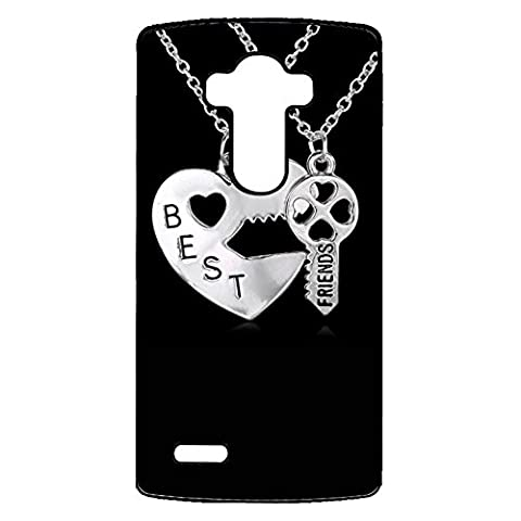 Necklace LG G4 Case Key and Lock Design Accessories Necklace Phone Case Cover for LG G4 Best Friends Fashionable