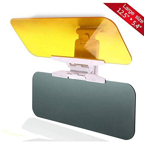Hsdris Auto Sonnenschutz Windschutzscheibenverlängerung Tag und Nacht Augenschutz 2 in 1 Augenschutz Blendschutz Geeignet für alle Autos
