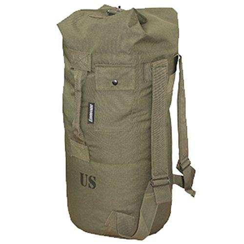Commando Industries US Army Airforce Duffle Bag x-lite 80cm x 50cm US Seesack Marinesack Rucksack Umhängetasche Wäschesack verschiedene Modelle (Oliv)