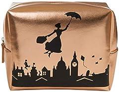 Idea Regalo - Mary Poppins Trousse da Viaggio Portatrucchi Disney Beauty Case da Donna