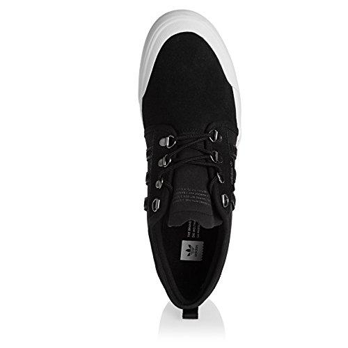 adidas Seeley Outdoor, Chaussures de Skateboard Homme Noir (Negbas/Negbas/Ftwbla)