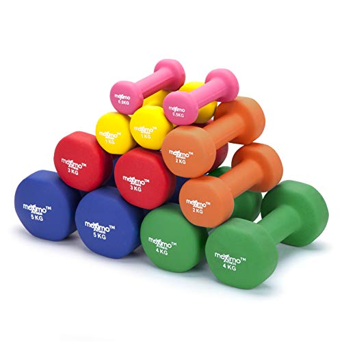 Zoom IMG-3 maximo fitness pesi dumbbell in