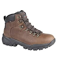 Johnscliffe Mens Canyon Leather Superlight Hiking Boots (8 UK) (Conker Brown)