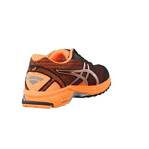 Asics Herren Gt-1000 5 G-Tx Trainingsschuhe, Schwarz black-silver-hot orange