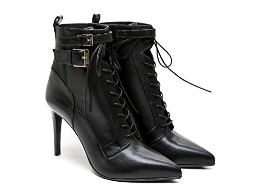 bootines-a-talon-sergio-rossi-en-cuir-et-tissu-noir-code-modele-a70520-maf656-1000-taille-39-it-39-e