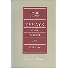 Essays -- Moral Political & Literary