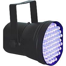 Beamz 151266 - Foco led par 36 dmx spot 55x10mm - luz negra