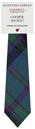 I Luv Ltd Garçon Tout Cravate en Laine Tissé et Fabriqué en Ecosse à Cooper Ancient Tartan