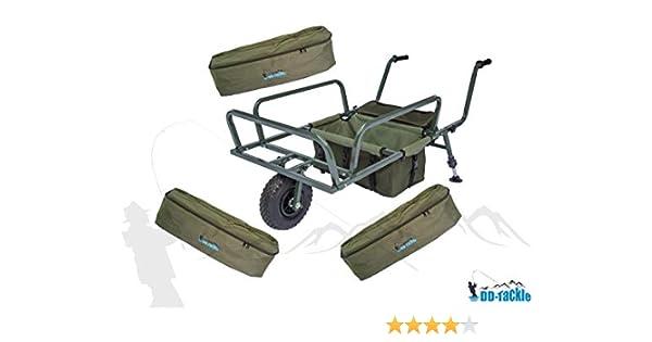 DD-Tackle Deluxe Angeltasche  XXL Carryall 64x34x37cm Karpfen Carp Food Bag