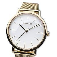 BERING Reloj Analógico para Mujer de Cuarzo con Correa en Acero Inoxidable 13436-334 de BERING